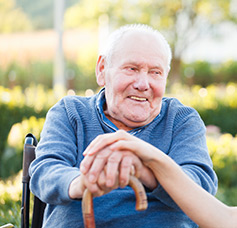 Elderly care at Amber Home Carers
